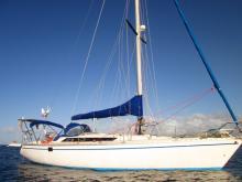 Sun Fizz: At anchor